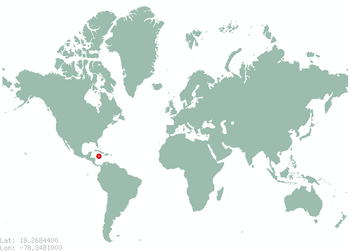 Places in jamaica find information on all places in jamaica negril in world map gumiabroncs Image collections