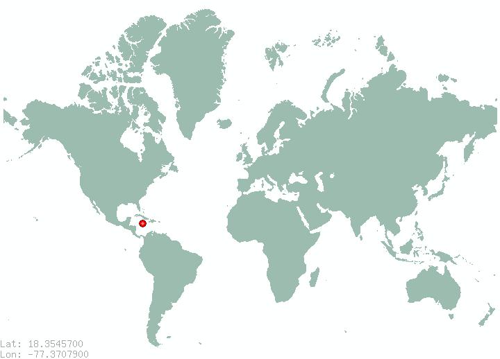Map of World Maps Jamaica, - World Map Database
